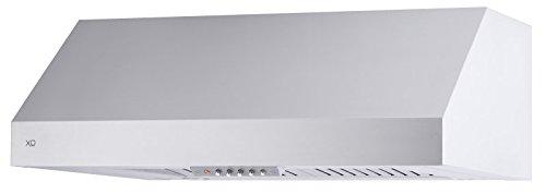 "XOT30S XO Range Hood Stainless Steel Wall Under Cabinet Pro Style, 30"", 600 CFM, Premium Italian Quality"