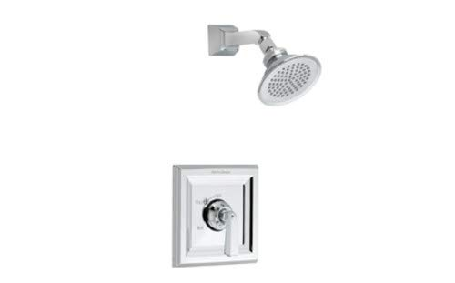 American Standard T555.500.295 Town Square 1-Handle Bath/Shower Valve Only Trim Kit in Satin Nickel (Valve Not Included)