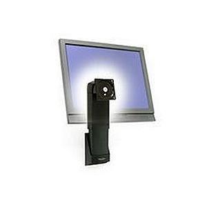 Reg Ergotron 60577195 Neo-Flex Wall Mount Lift Slim Profile 16 lb Weight Capacity Black