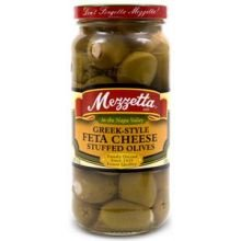 Greek Style Feta Cheese Stuffed Olive 9.50 Ounces (Case of 6) (Feta Style)