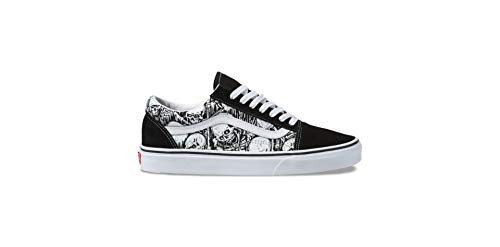 Vans Men's Old Skool Skate Shoe (11 B(M) US Women / 9.5 D(M) US Men, Forgotten Bones)