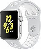 UPC 190198398987, Apple Watch Nike+ 42mm Silver Aluminum Case Pure Platinum/White Nike Sport Band