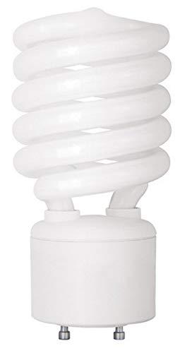 TCP 150 Watt Equivalent Single-Pack, Spiral GU24 Base CFL Light Bulb, Non-Dimmable, Soft White 33142SP (42w Spiral Cfl)