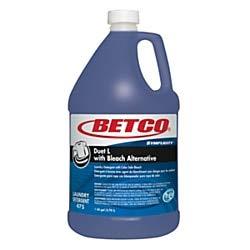 Betco Symplicity Duet L Detergent with Bleach Alternative, Fresh Scent, 128 Oz, Blue -  Betco Corporation, 4750400
