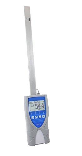 Humimeter RH5 Paper Moisture Meter with Datalogger, Measuring Range 0 to 100%