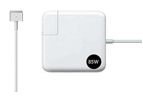 Mac Pro Charger Replacement for Mac Book Pro Charger with 13-inch 15-inch Retina Display After 2012 Ac 85W Magsafe 2 T-Tip Power Adapter Connector