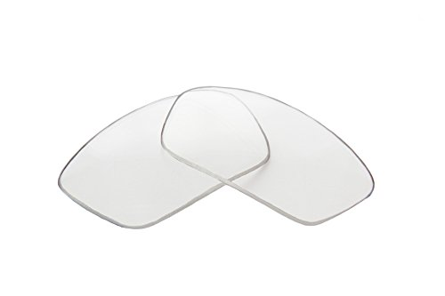 (SFx Replacement Sunglass Lenses fits Mako 56mm Wide (Polycarbonate Clear Hardcoat Pair-Regular))