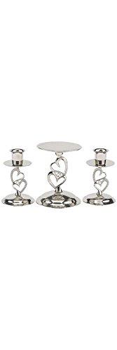 Romance Unity Candle Set - David's Bridal Dazzling Embrace Candle Stand Set Style DBK10805