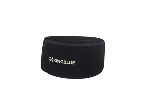 KINGBLUE Black Neoprene Wading Belt for Waders, Outdoor Sports, Daily Use
