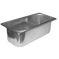 Master-Bilt 44-01050 Stainless Steel 5 Liter European Gelato Pan by Master-Bilt