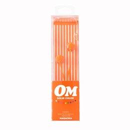 【まとめ 10セット】 NAGAOKA カナル型インナーイヤーヘッドホン Orange OM101/OR   B07KNSJG74