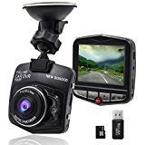 THINK SOGOOD 2.4 Inch HD 1080P Car DVR, 170° Wide Angle Lens Car Video Camera with Motion Detection, G-Sensor and Parking Monitor(Include 8G Micro SD Card)