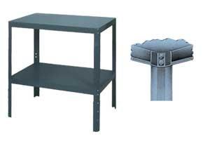 EDSAL MANUFACTURING Heavy Duty Work Tables, HWT243630, 24 x 36