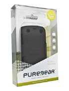 Puregear 88639VRP Rubberized Ribbed Texture Shell Holster Combo for BlackBerry 9350,9360,9370 - 1 Pack - Retail Packaging - Black