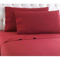 Kmart Cotton Comforter (Cannon Micro Fiber Queen Sheet Set - Red)