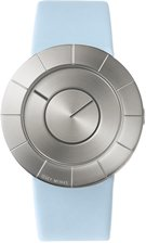 Issey Miyake TO Silver Face Light Blue Band Watch SILAN010
