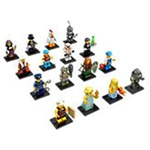 Lego Minifigures Series 9 Complete Set of 16