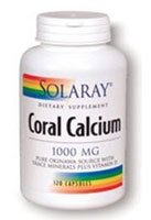 Solaray Coral Capsules de calcium,