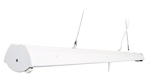 Hydrofarm FLV42 Fluorescent Grow Light Fixture, 4-Feet