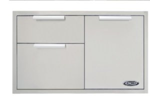 Dcs Wood Grill - DCS ADR136 70968 36-Inch Built-In Stainless Steel Storage Drawer
