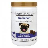 Vet Classics No Scoot for Dogs Soft Chews 120 Count Jar
