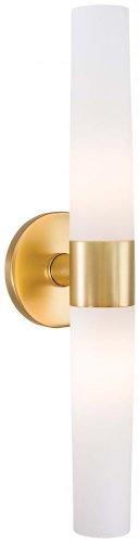 George Kovacs P5042-248, Saber, 2 Light Bath Fixture, Honey Gold