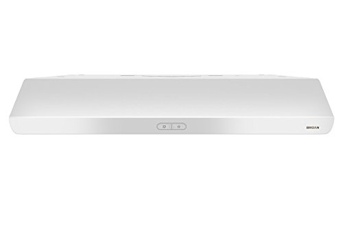 Broan-NuTone BKDB136WW Sahale Range Hood with LED Light 36-Inch White