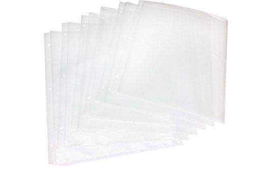 (Bifold (Fold-Out) Sheet Protectors, 2 Sets of 6 (12 Total bifolds))