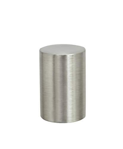 - Aspen Creative 24019-21 Steel Lamp Finial in Brushed Nickel Finish, 1 1/4