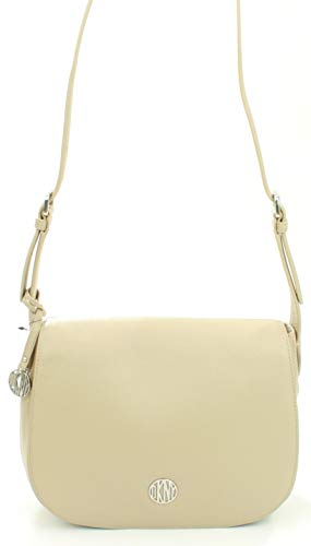 Karan Sandstone Leather DKNY Shoulder Sandstone Bag Donna DKNY Shoulder Donna Leather Bag DKNY Karan Odqw0v