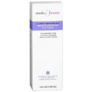 Studio 35 Oil-Free Moisturizing Facial Lotion Sensitive Skin, 4 fl oz (Lotion Studio Body 35)