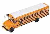 International School Bus - WWOT International Ce 1/87 Scale School Bus with custom lettering