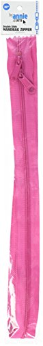 Double Raspberry - ByAnnie Double Slide Zipper, 30