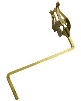 Atril marcha saxo tenor y trompa, 130 mm (extra largo)
