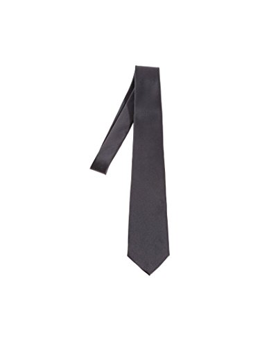 Z Zegna Men's Z3d041l7b Grey Silk Tie by Z Zegna