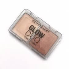 City Color Cosmetics Glow Duo Cream + Powder Palette Travel Size ()