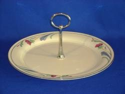 Lenox Chinastone Poppies on Blue Tiered Serving Tray ()