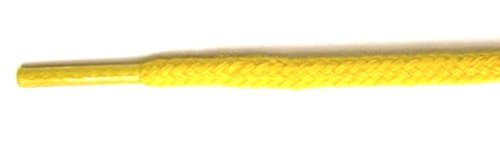 FootGalaxy Round Laces For Boots And Shoes Yellow