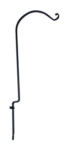 Panacea 89436 Forged Curved Hook, Black, 36-Inch - Forged Curved Hook