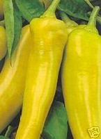 Pepper Sweet Banana Great Heirloom Vegetable 100 Seeds By Seed Kingdom