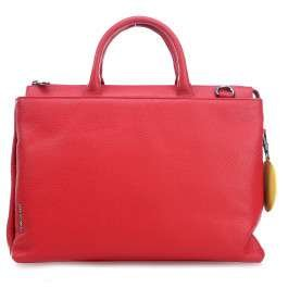 Mandarina Duck  Mellow Leather Tracolla, Sac à main pour femme - rouge - Rot (Mara Red),