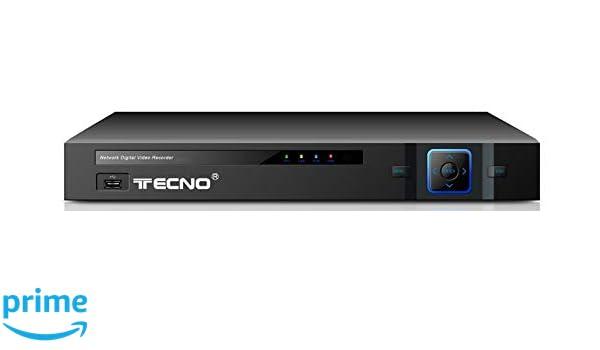 DVR TECNO modelo AHD-IP-TVI- 8 canales seguridad control de ...