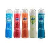 Durex Play Gel Lubricant 1 Set 5 Pcs. / Clasic, Strawberry, Warming ,Aloe Vera , Tingle Thai
