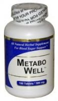 Metabo Well (90 Capsules) - Concentrated Herbal Blend - Dietary Supplement - 2 Pack by Get Well Natural, LLC