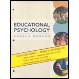 Educational Psychology Binder Ready Version, Moreno, 0470556439