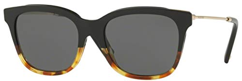 Valentino VA2011 Metal Women's Sunglasses (Black/Havana, ()