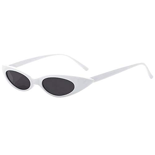 Sunglasses Rapper Oval Shades Grunge Glasses (Sonnenbrille Polycarbonat)