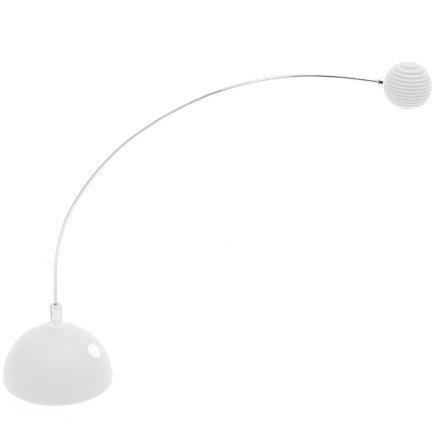LumiSource LS-LED ATMTF W Atomic Truffle LED Table Lamp, White by Lumisource-HI