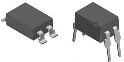 Transistor Output Optocouplers Phototransistor Out AC-In CTR63-200/% 5 pieces