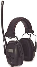 Honeywell Safety Products 1030331 Sync Am/Fm Radio Earmuff, Nrr 25, Plastic, 10.5